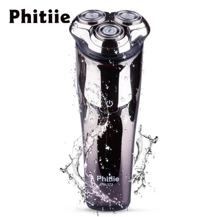Phitiie Professional - Afeitadora el�ctrica para hombre, lavable, giratoria, ...