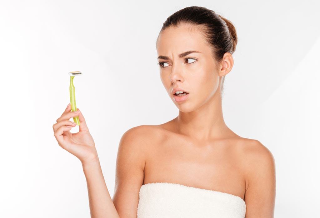 C�mo eliminar el vello p�bico durante el embarazo