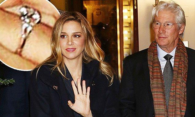 La novia de Richard Gere, Alejandra, lleva 'anillo de compromiso' | Correo diario ...