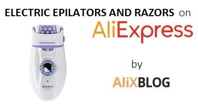 Depiladoras y maquinillas de afeitar el�ctricas: encu�ntralas al mejor precio en AliExpress