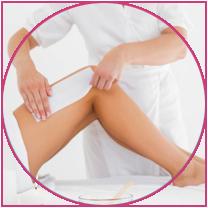 Muselina vs tiras de cera no tejidas - Pinky's Waxing Strips ...